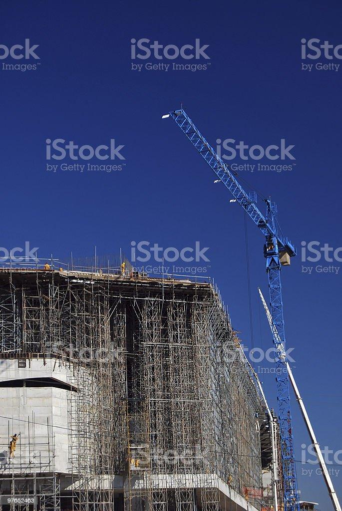 Huge Construction royalty-free stock photo