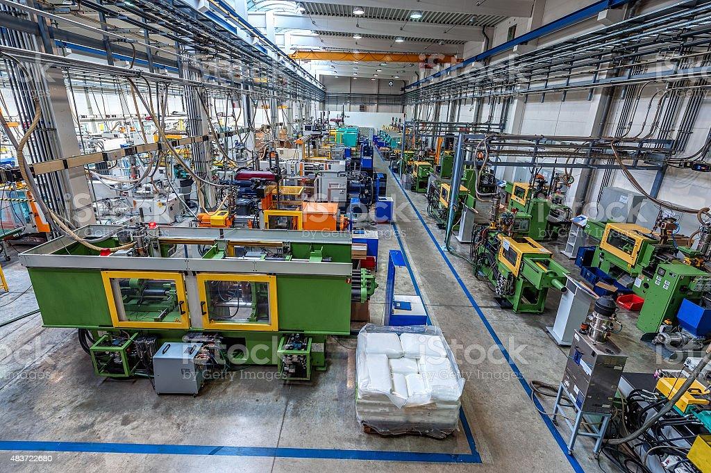 Huge factory stock photo