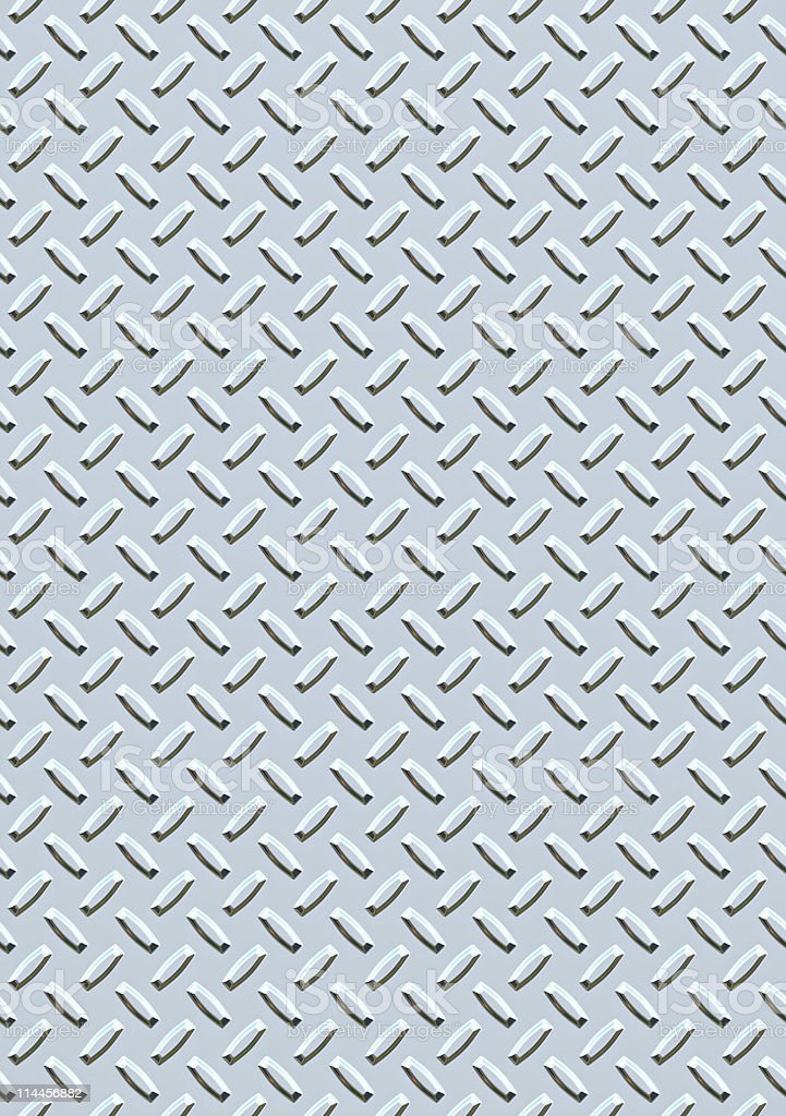 huge industrial steel metal diamond or tread plate background royalty-free stock photo