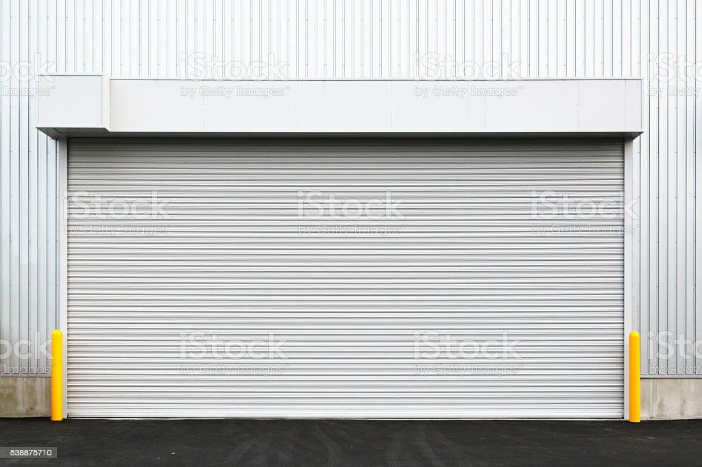 Huge logistics center stock photo