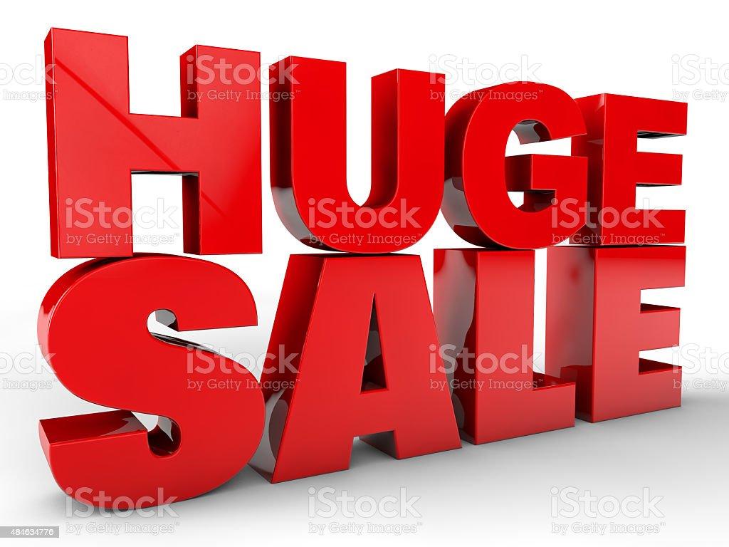 Huge Sale stock photo