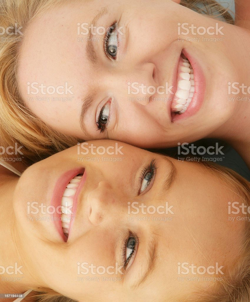 Huge Smiles stock photo