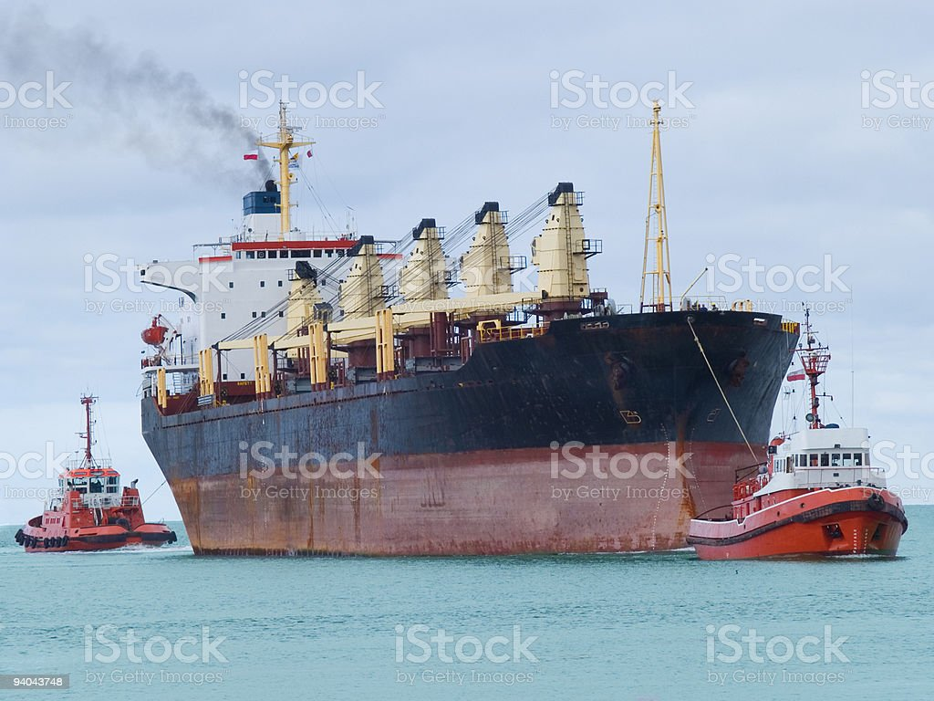 Huge Vessel royalty-free stock photo
