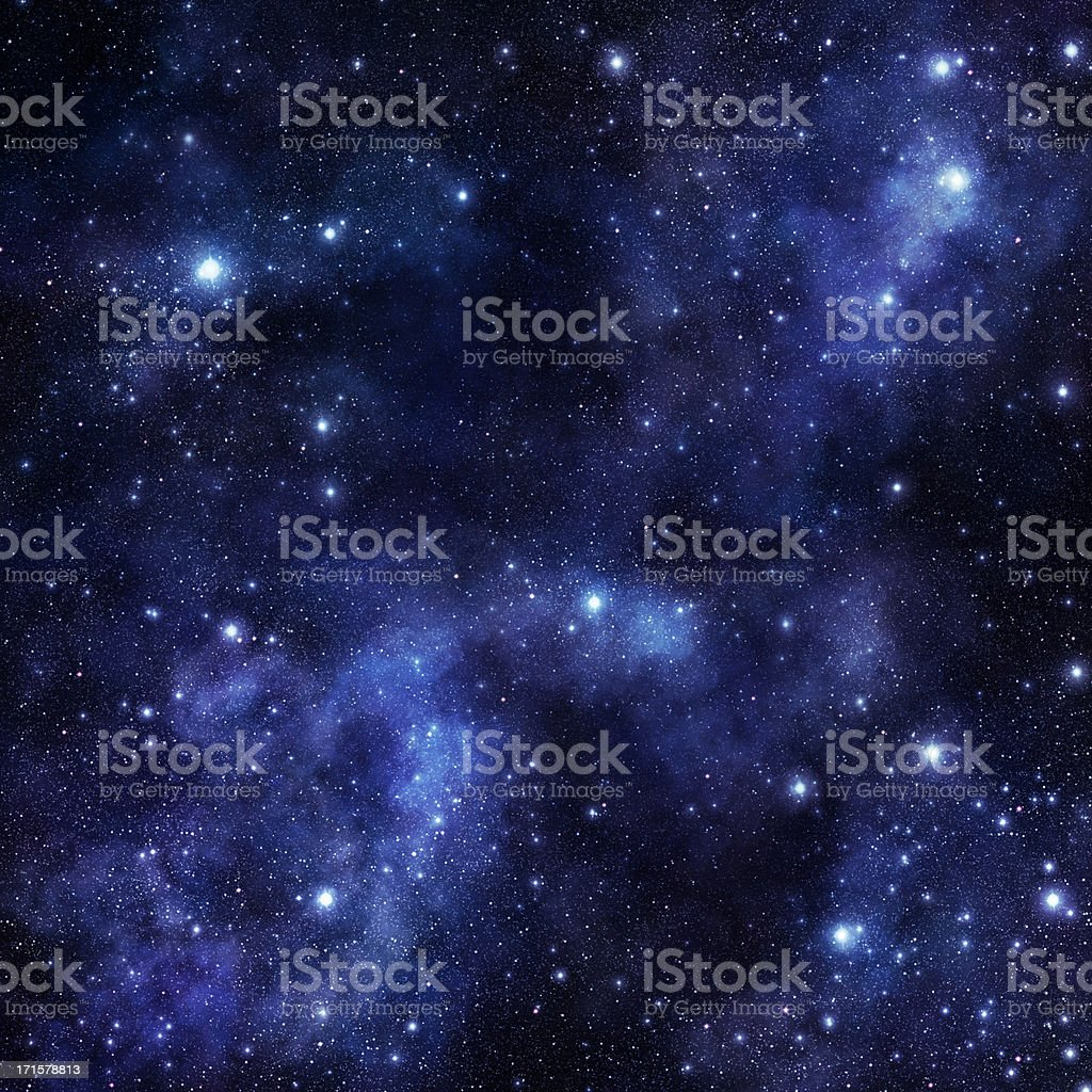 Huge Vibrant Space stock photo