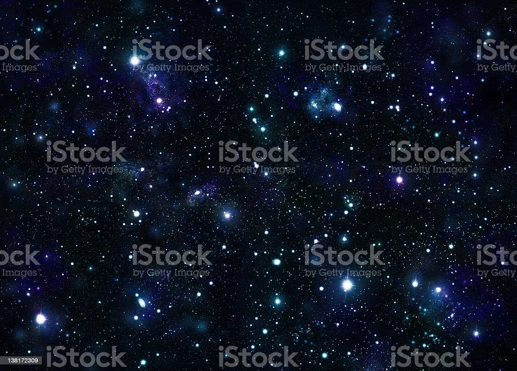 Huge Vivid Space stock photo