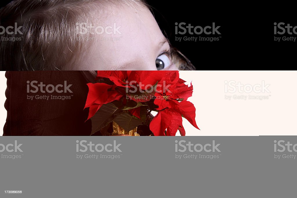 Hugging Mom royalty-free stock photo