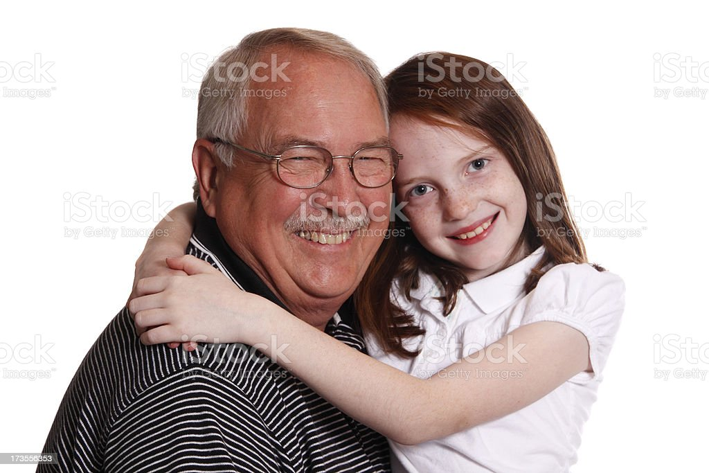 Hugging royalty-free stock photo