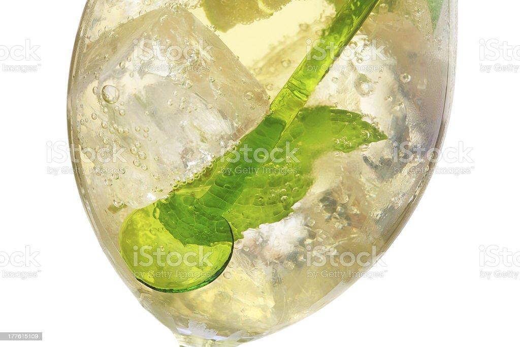 Hugo Cocktail royalty-free stock photo