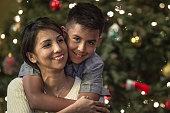 Hugs on Christmas Eve