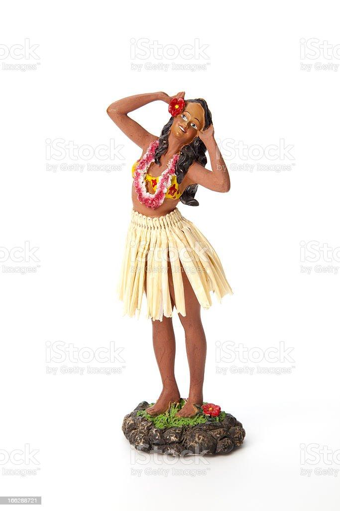 Hula Doll stock photo