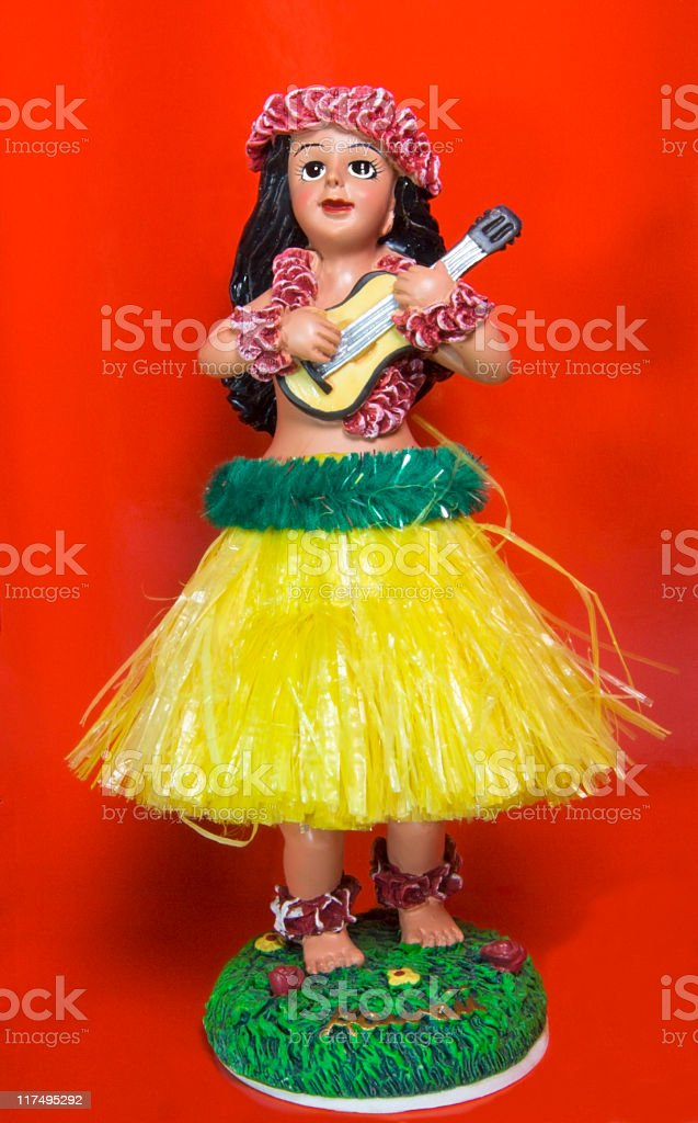 Hula royalty-free stock photo