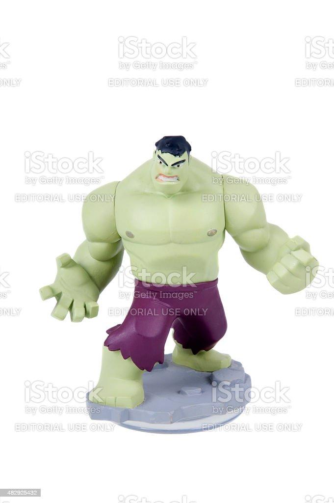 Hulk Disney Infinity Figurine stock photo