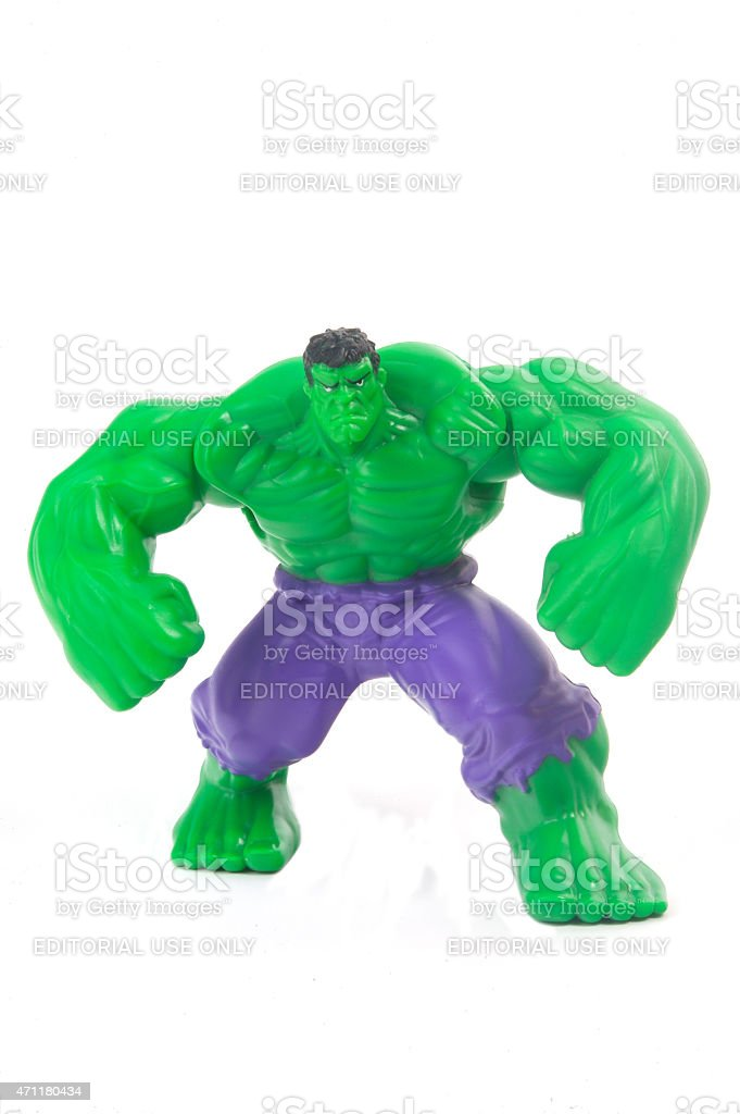 Hulk Figurine stock photo