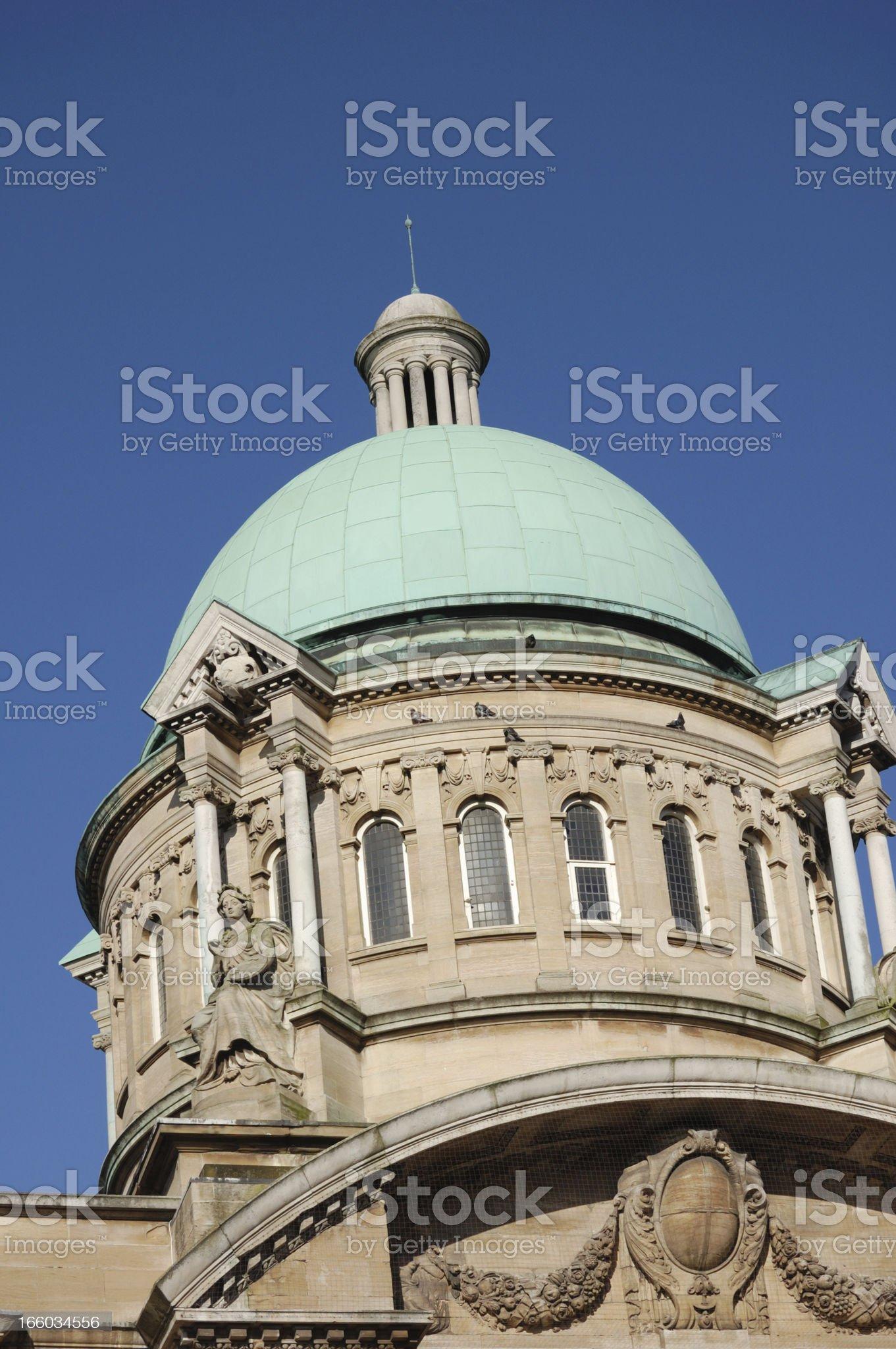 Hull City Hall royalty-free stock photo