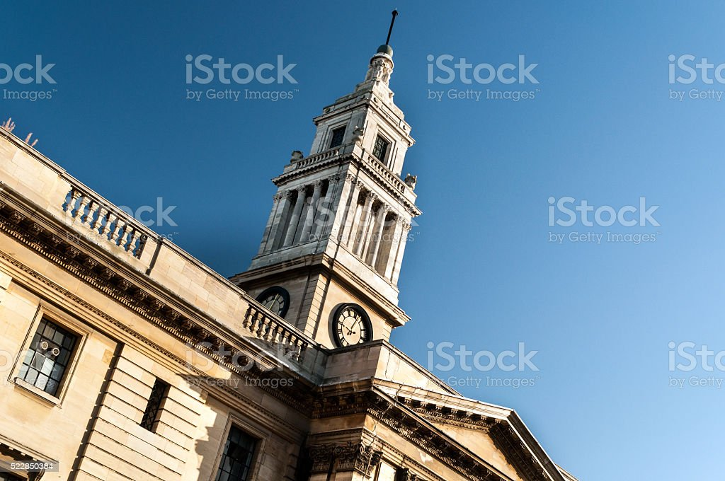 Hull, England - Guild Hall and Law Courts stock photo