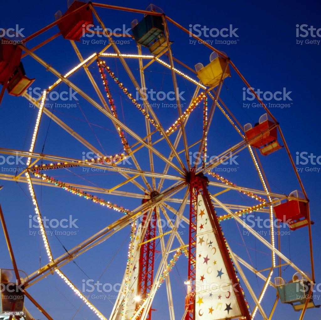 Hull Fair stock photo