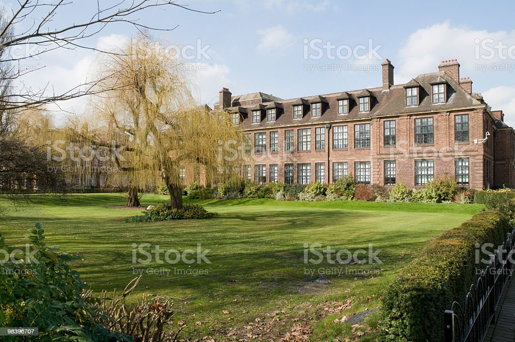 Hull University, England stock photo