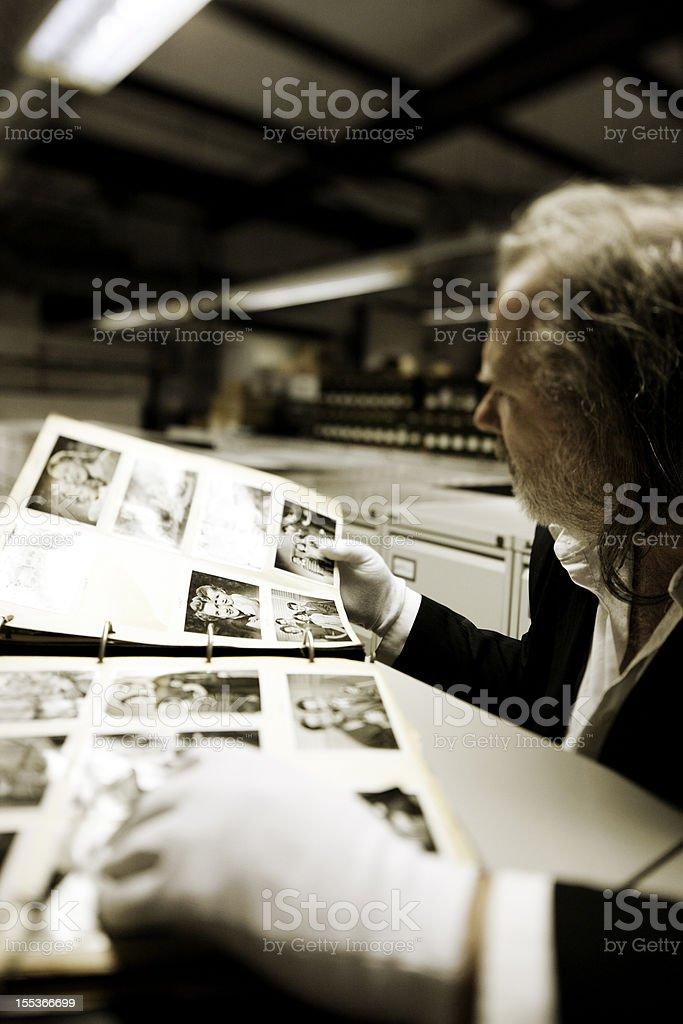 Hulton photographs stock photo