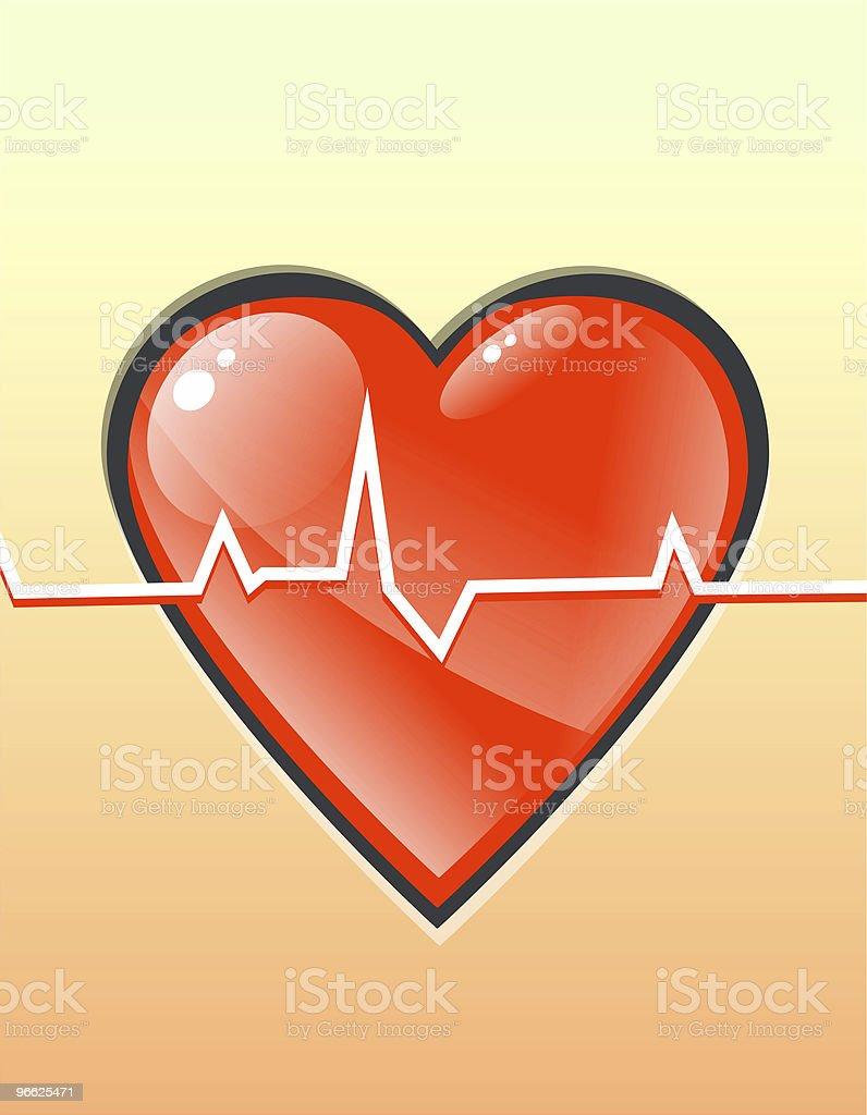 휴머니즘 두근거리는 심장 royalty-free 스톡 사진