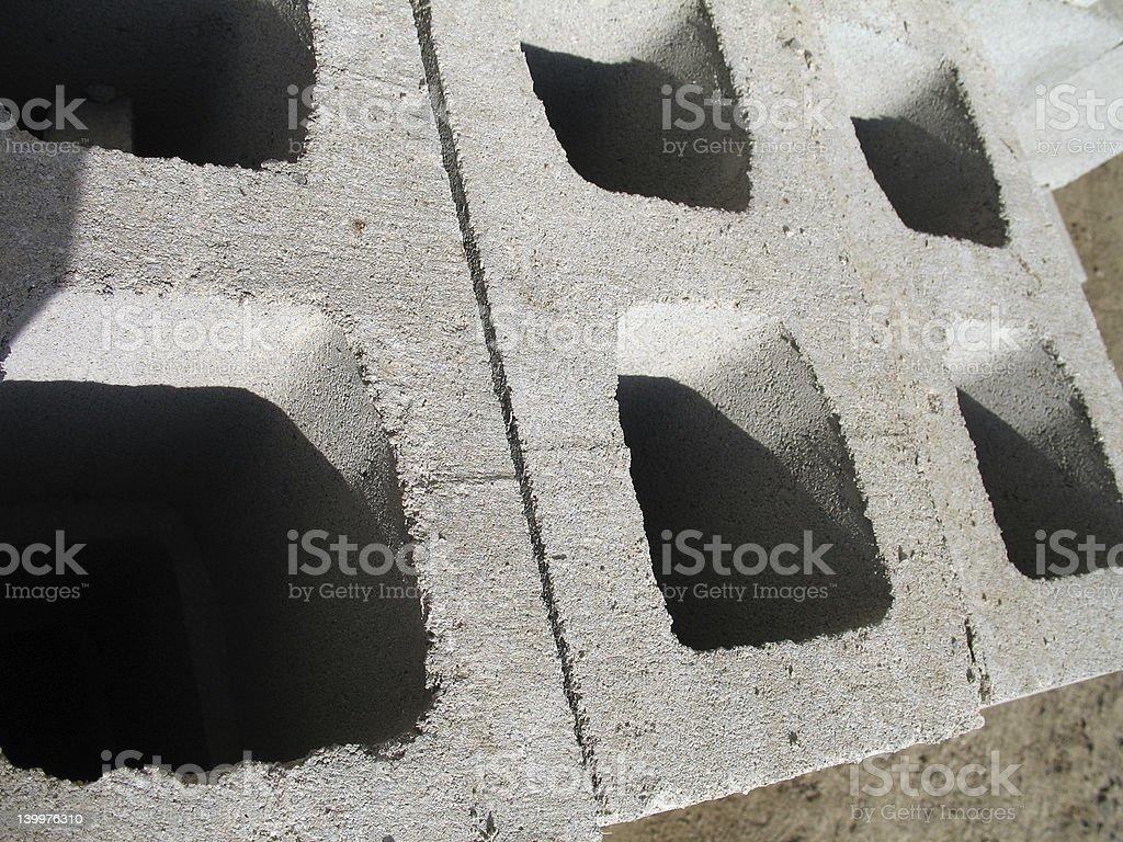 Human Blocks royalty-free stock photo