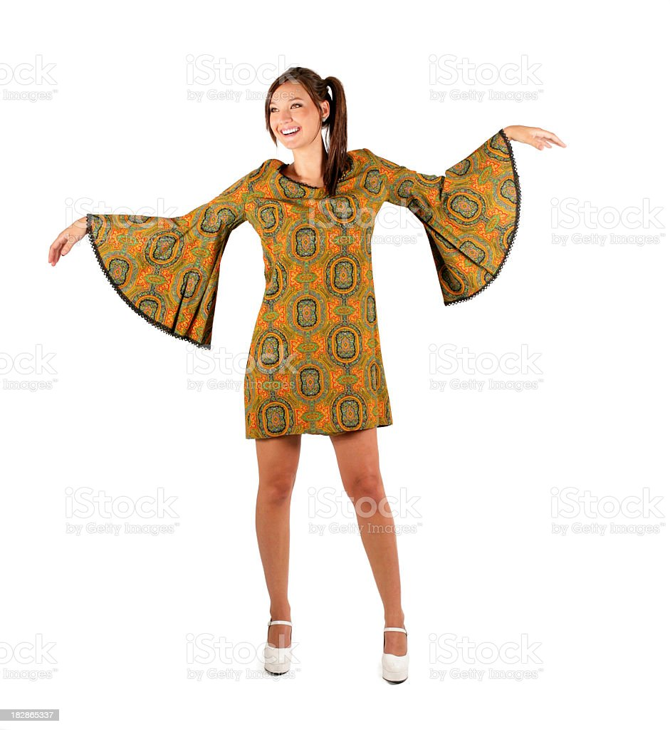 Human Butterfly royalty-free stock photo