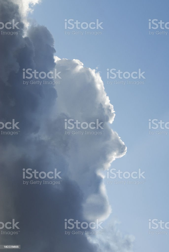 Human cloud royalty-free stock photo