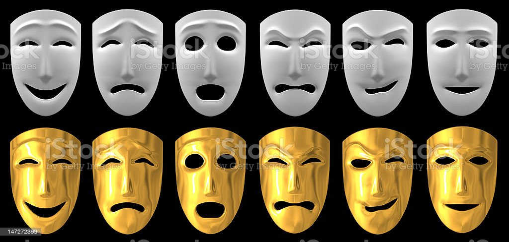 Human emotions stock photo