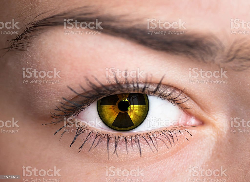 Human eye - concept photo. stock photo
