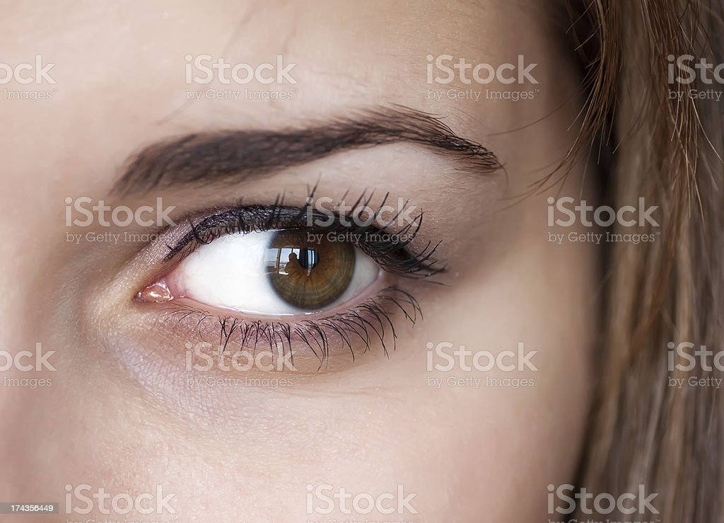 Human eye. royalty-free stock photo