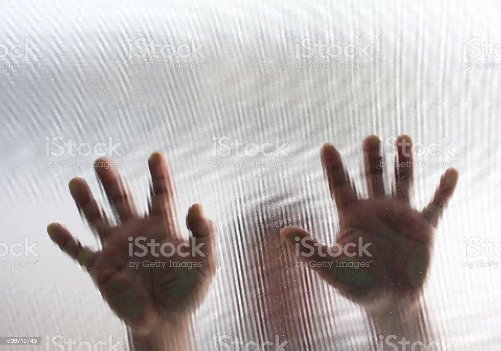 Human finger stock photo