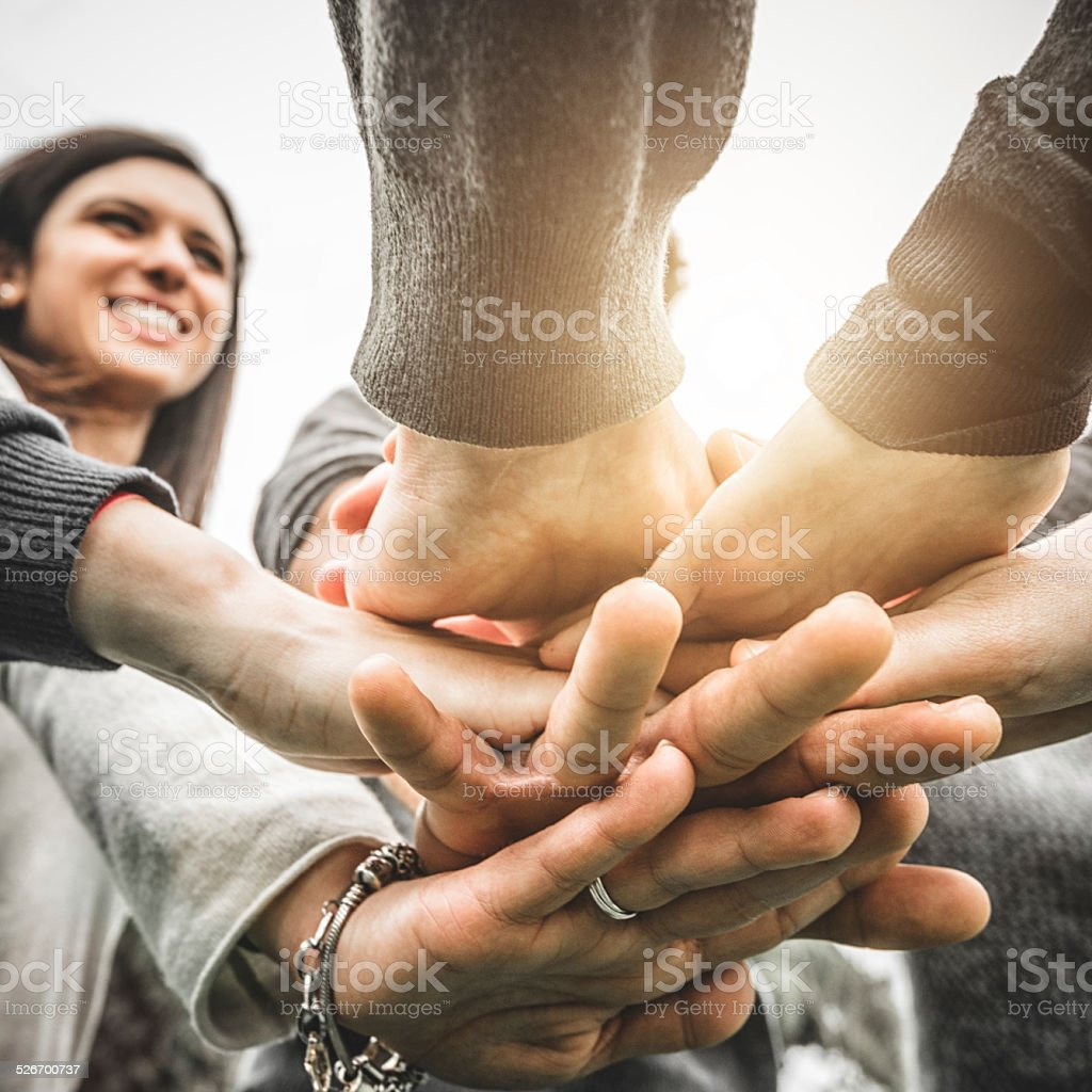 human fraternity stock photo