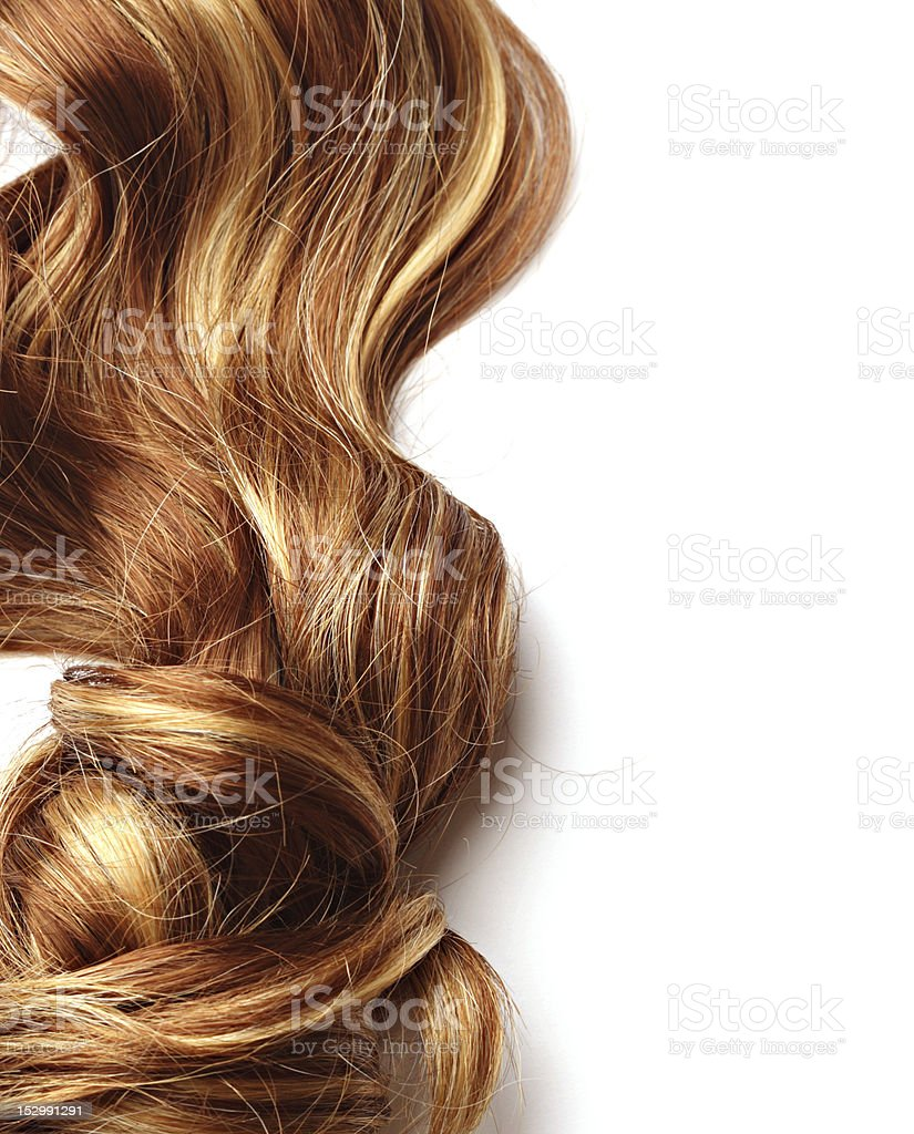 human hair stock photo