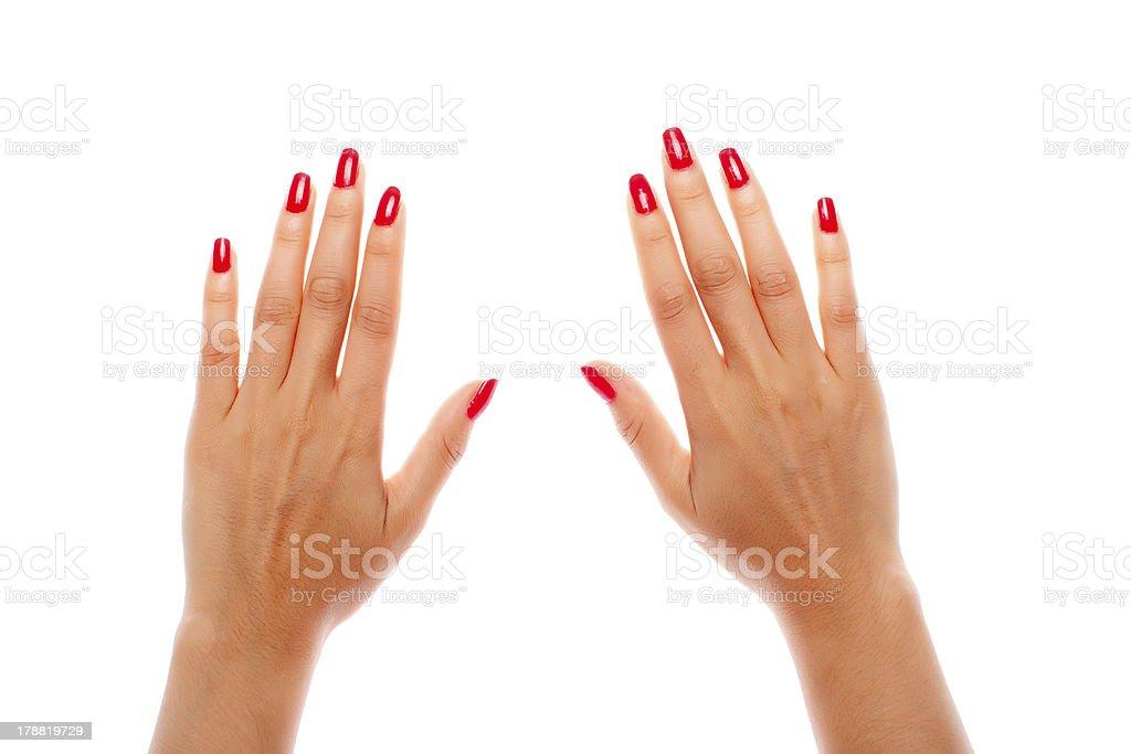 Human Hands stock photo