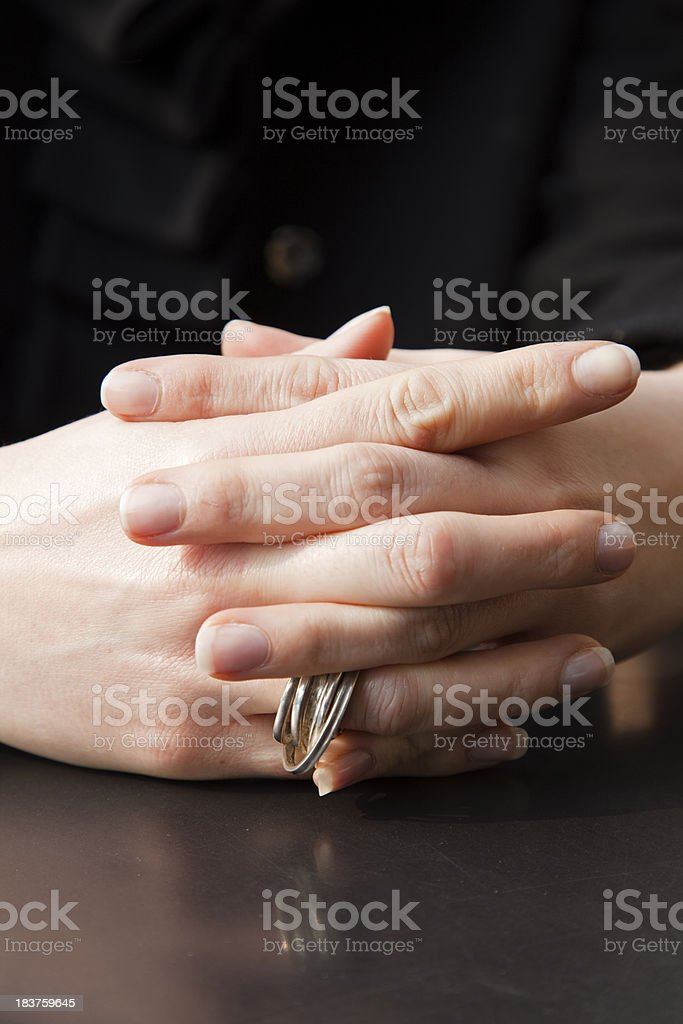 Human Hands royalty-free stock photo