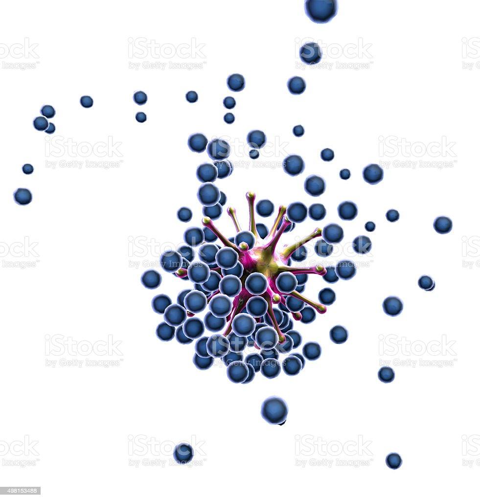 Human Immune System stock photo