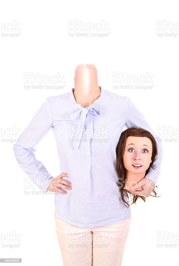 Human Mannequin stock photo
