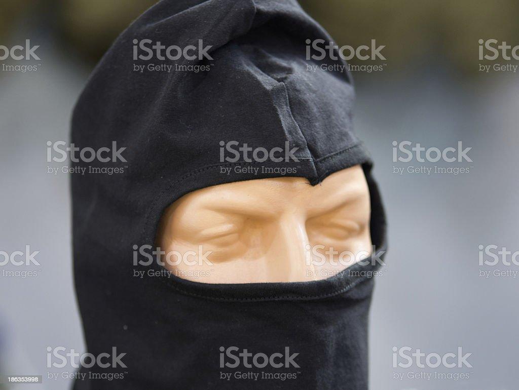 Human mask royalty-free stock photo