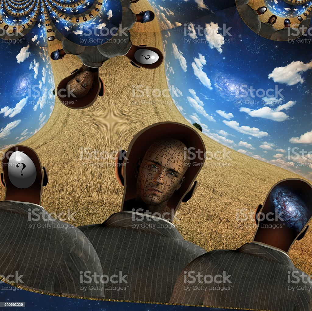 Human Minds stock photo