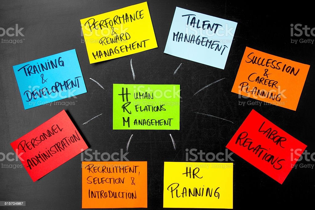 Human Relations Management stock photo