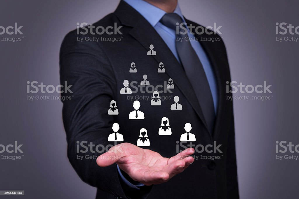 Human Resources Business Concept stock photo
