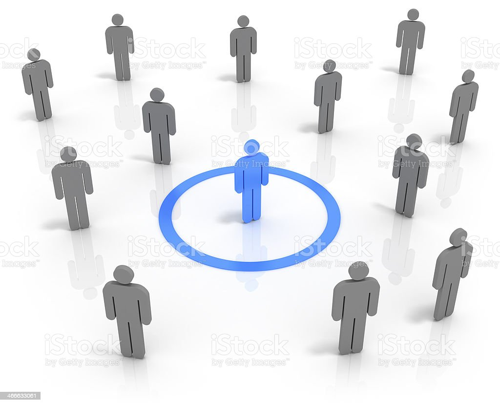 Human Resources Concept. stock photo