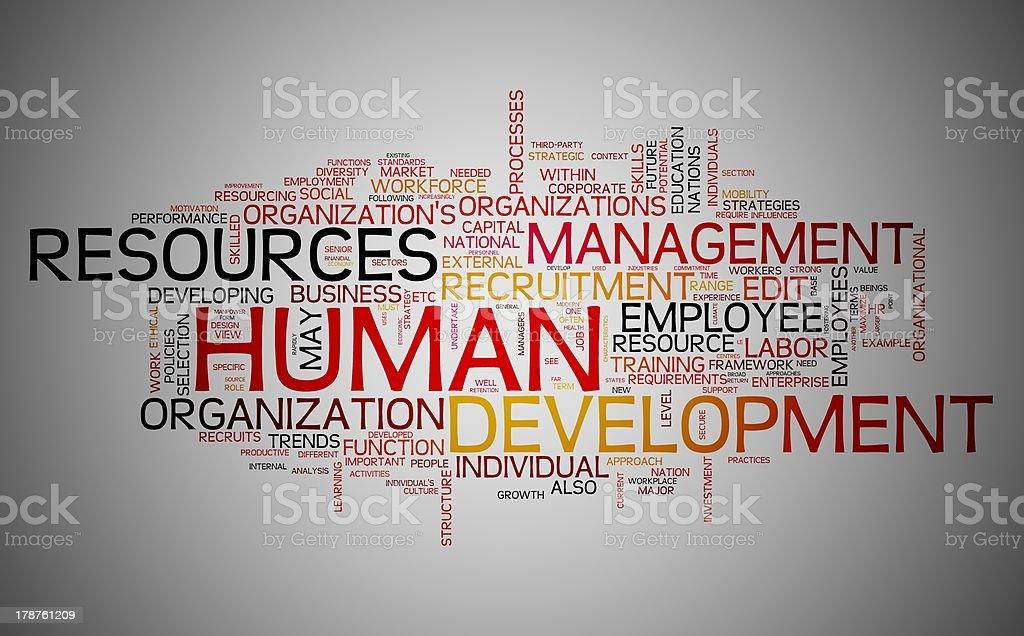 Human resources development royalty-free stock photo