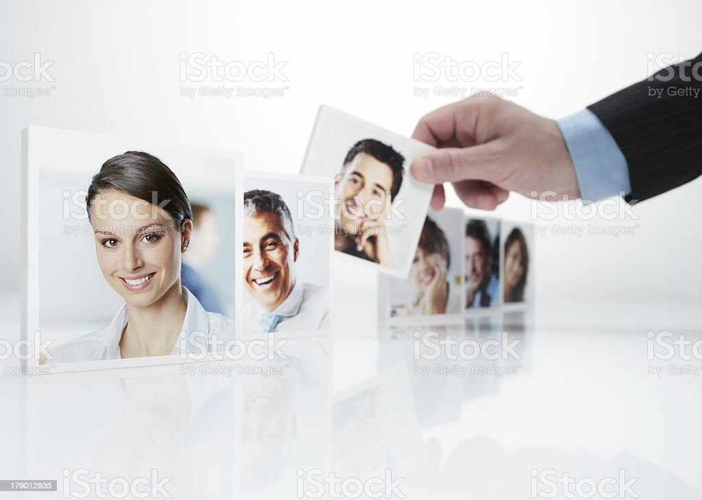 Human Resources royalty-free stock photo