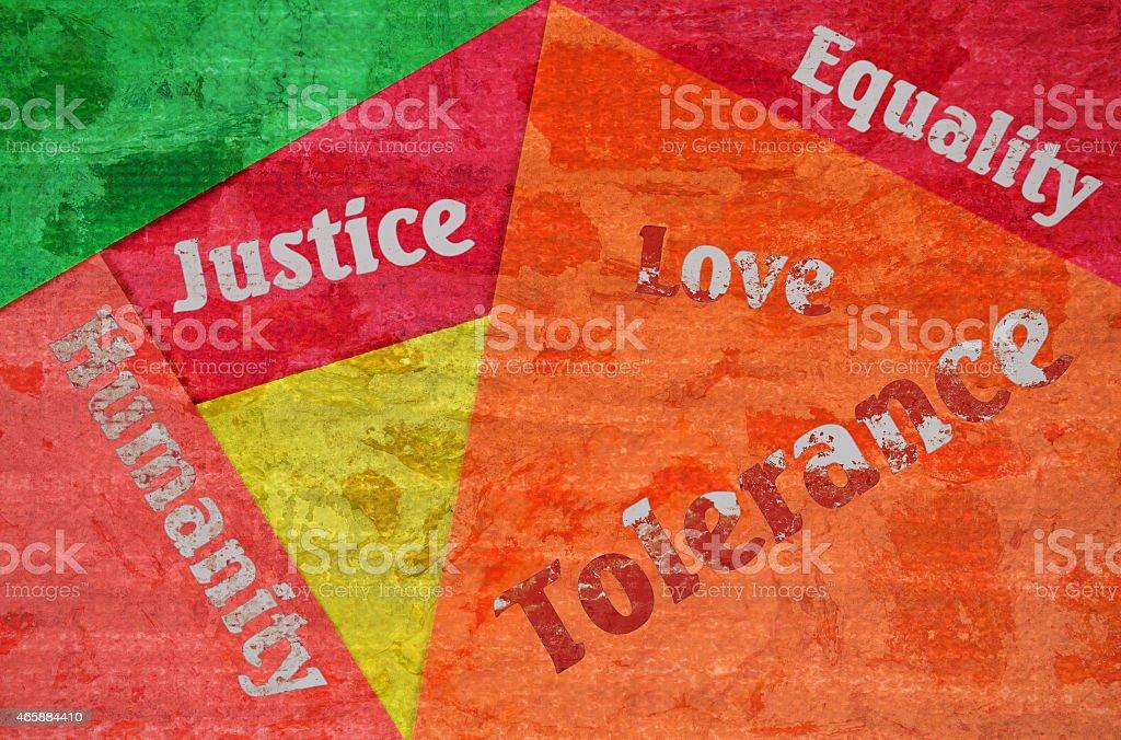 Human rights stock photo