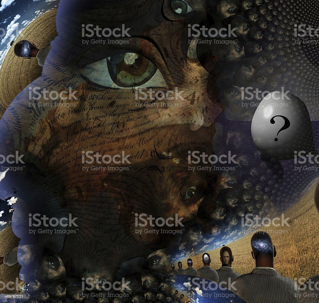 Human Tale stock photo