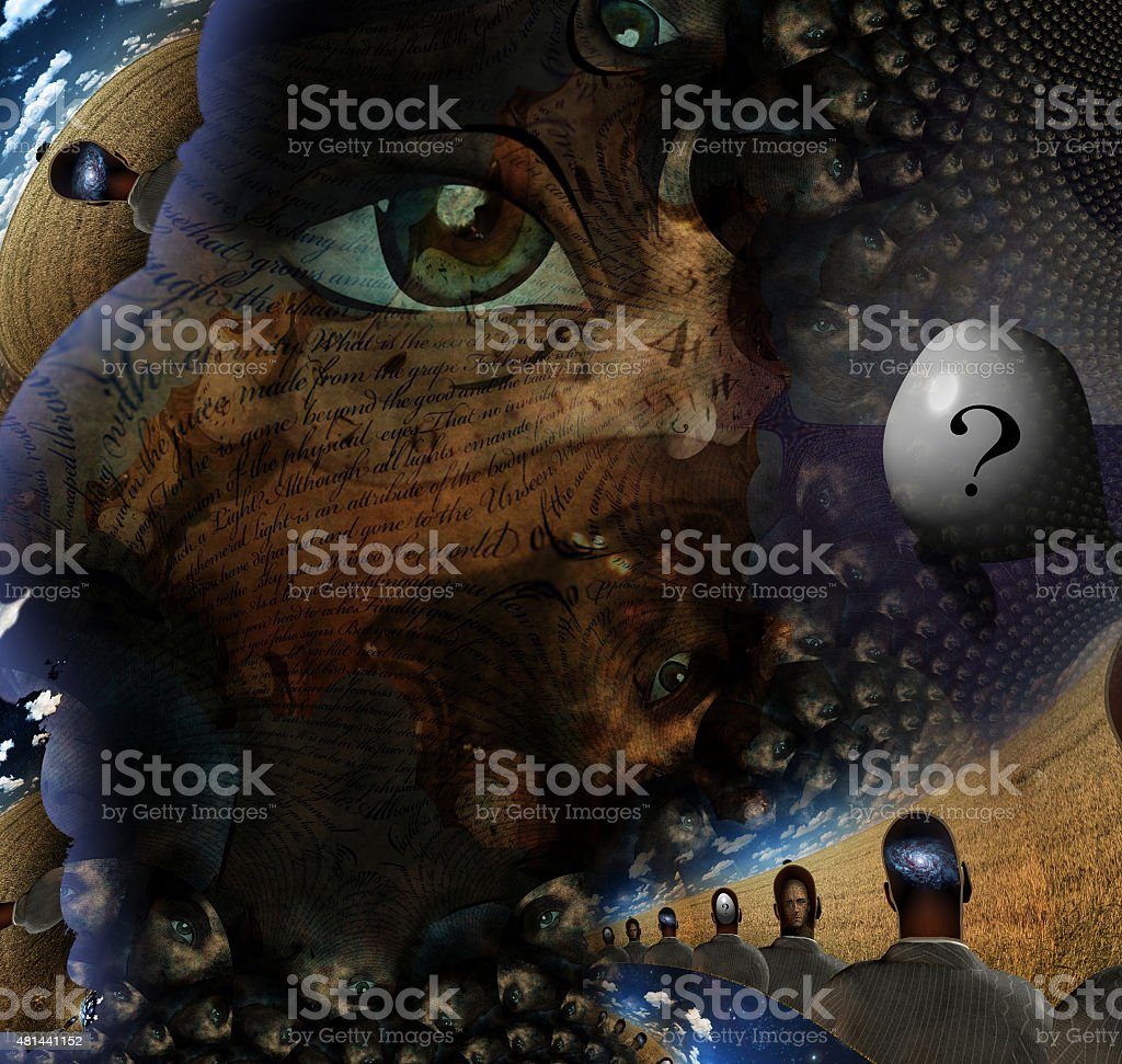 Human Tale stock photo