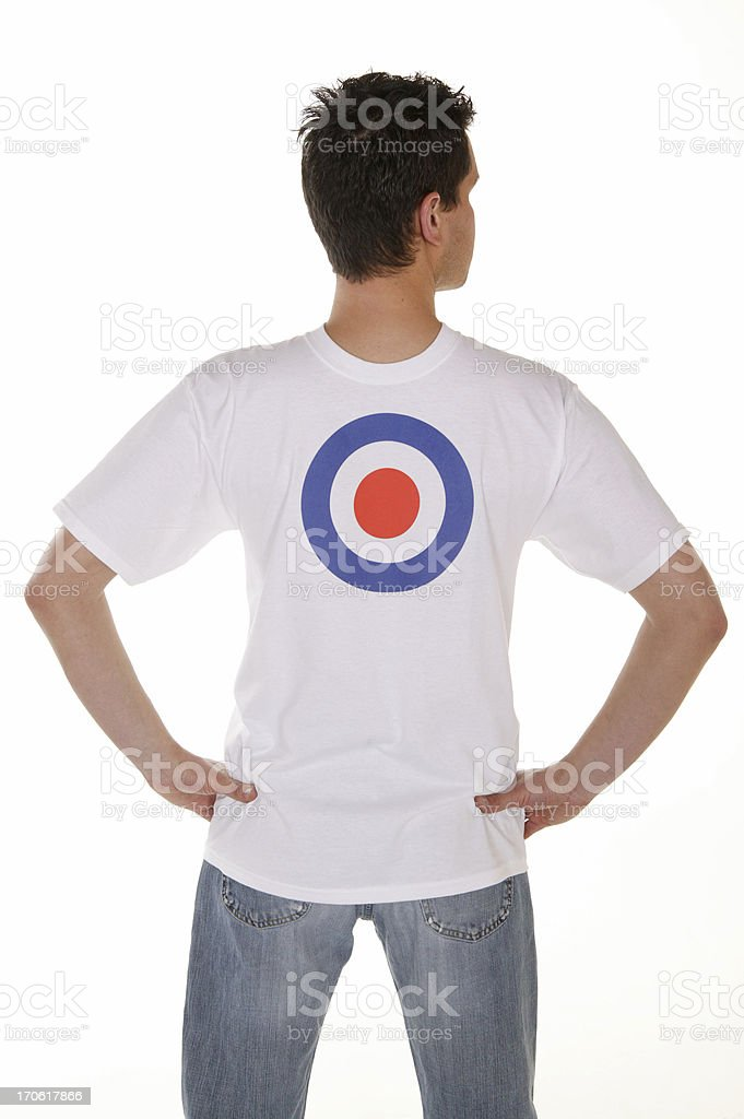 human target series royalty-free stock photo