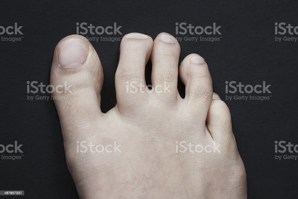 Human Toes stock photo