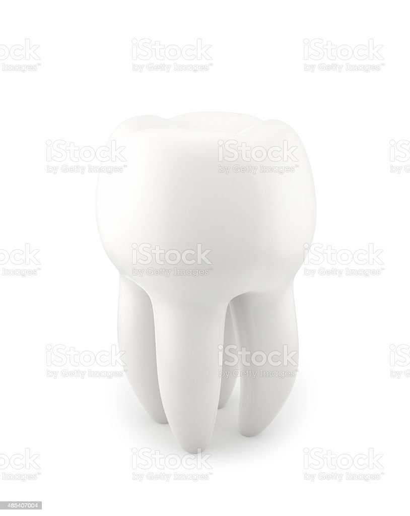 Human Tooth stock photo