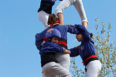 Human towers Castellers